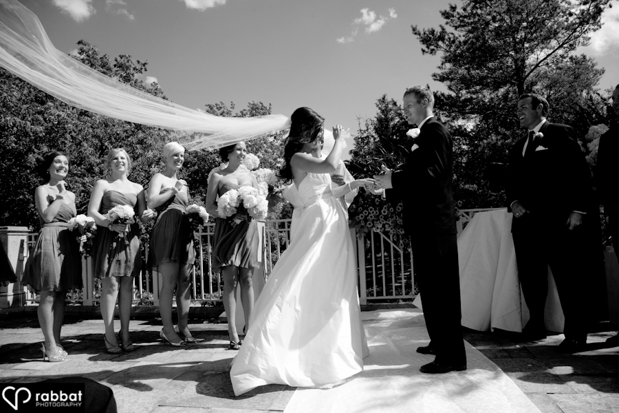 Ceremony King Valley Golf Course Wedding