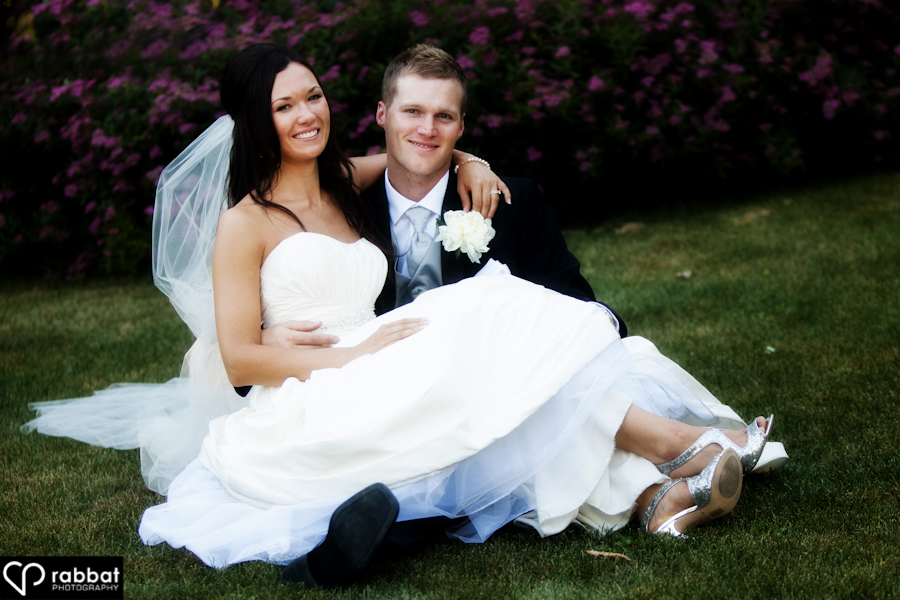 Couple photo at King Valley Golf Course