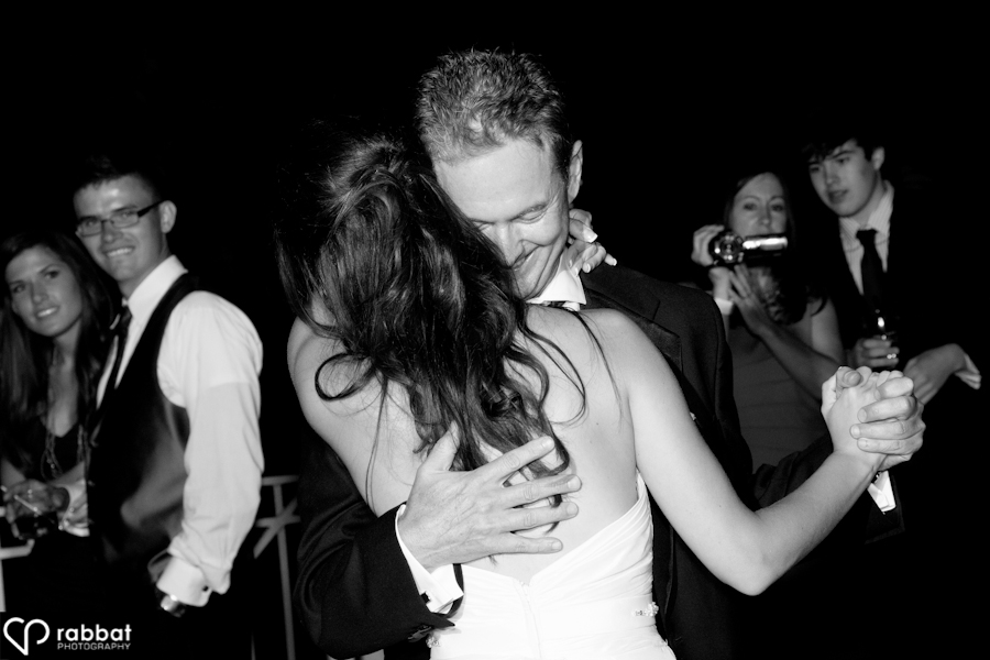 Father daughter dance   King Valley Golf Course wedding