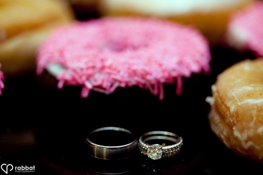 Donuts with rings