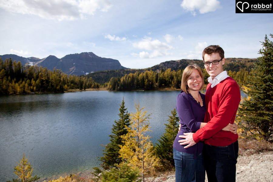 Engagement photos in the rocky mountains