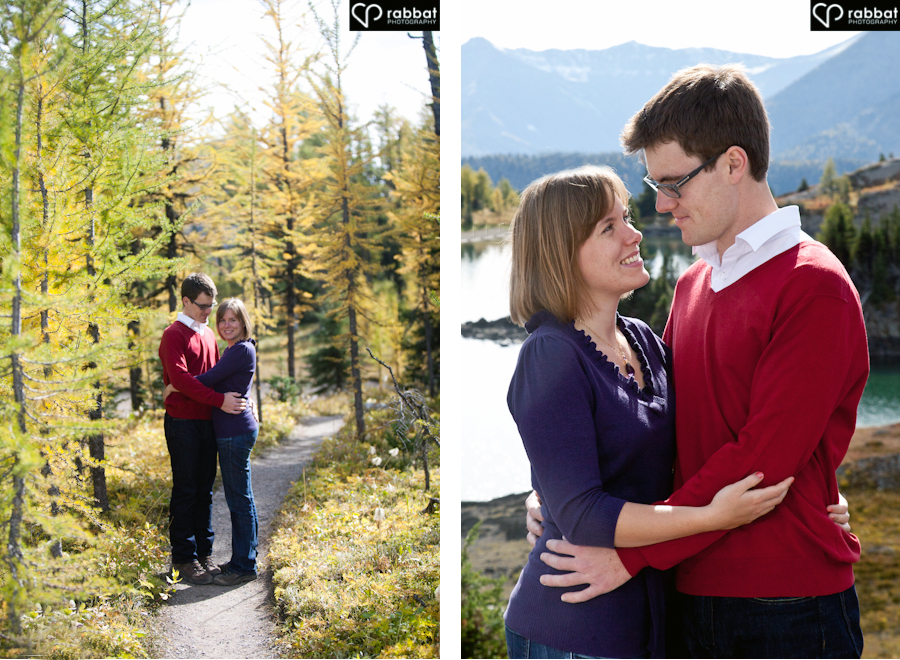 Engagement session in Banff