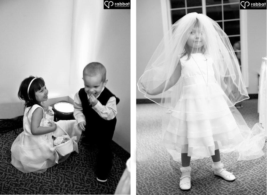 Ringbearer and flower girl