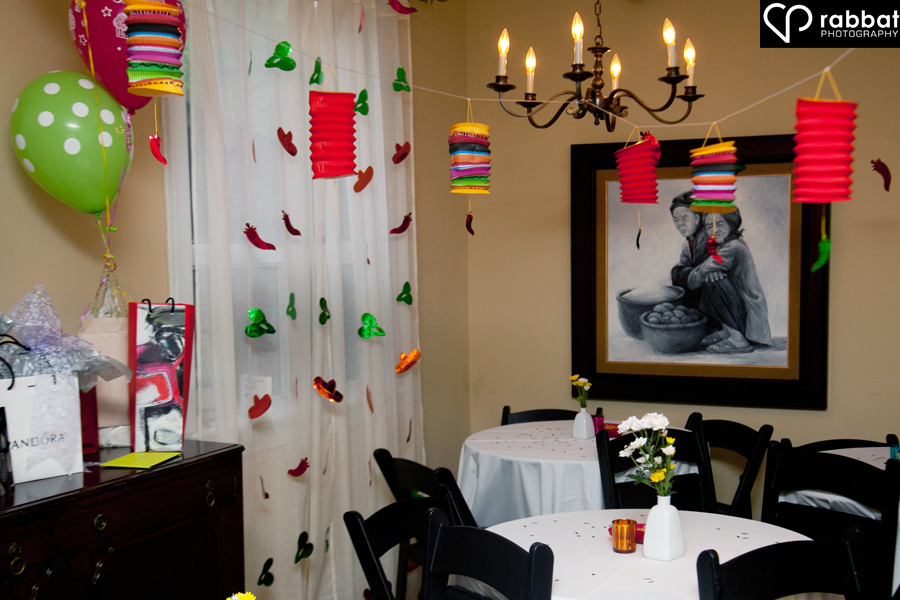 Room with a Mexican theme