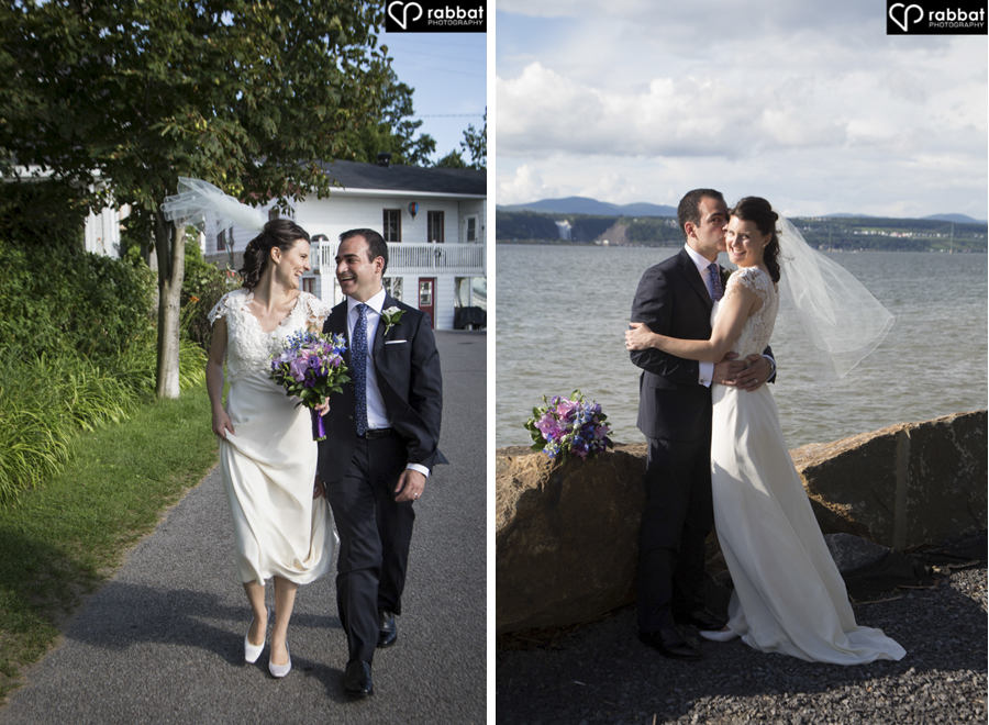 Wedding photos in Ile d'Orleans