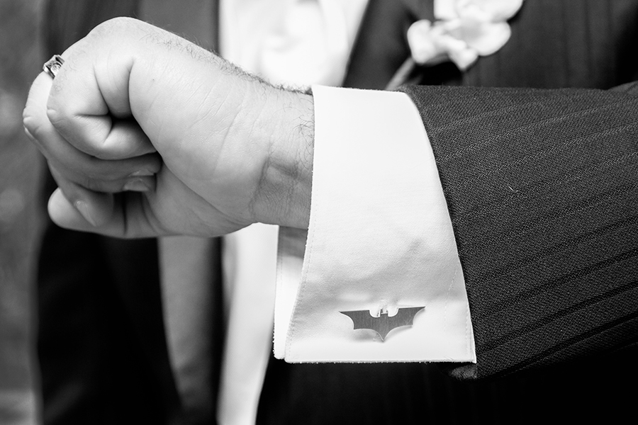 batman button cuff