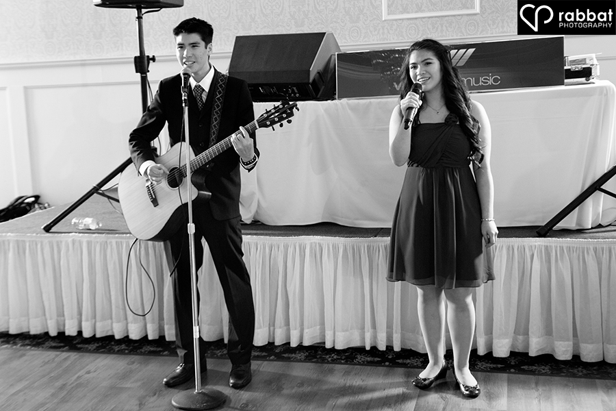 Special duet for the bride and groom