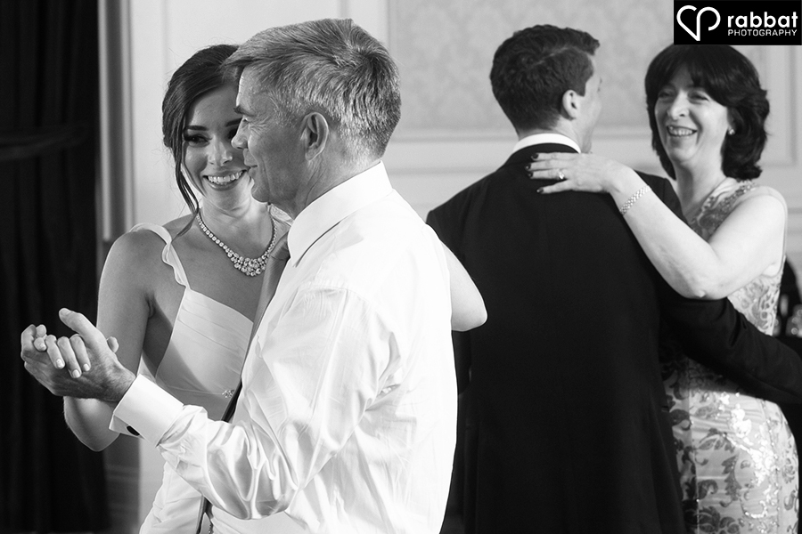 First dance with parents
