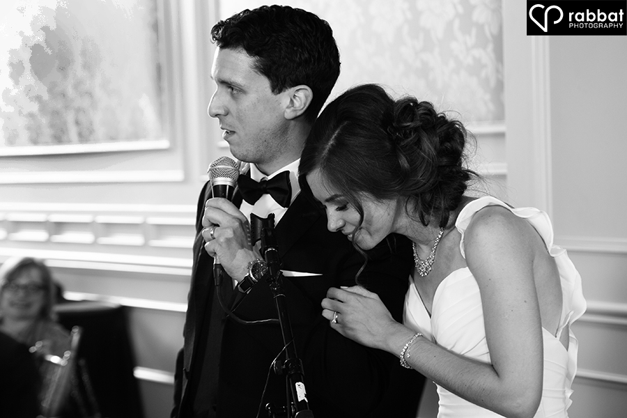 Wedding speech at Hazelton Manor