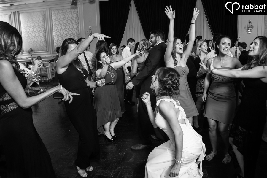 Wedding reception dancing at Hazelton Manor