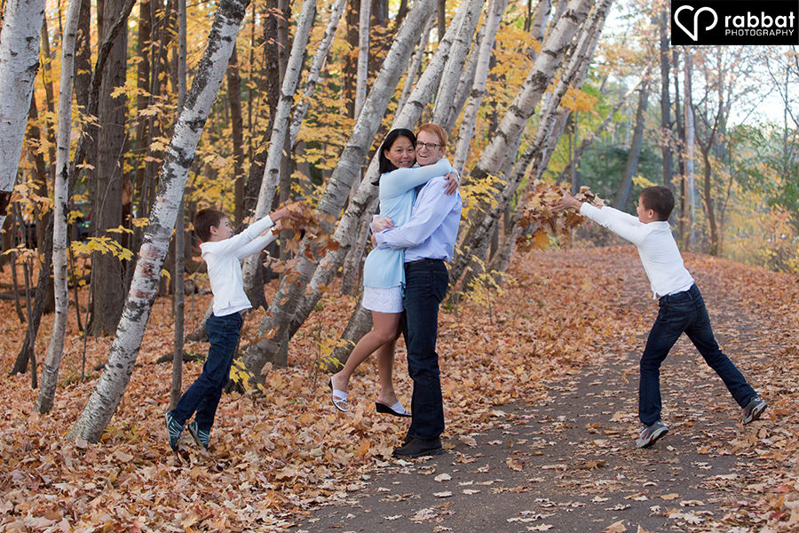 Creative family portraits