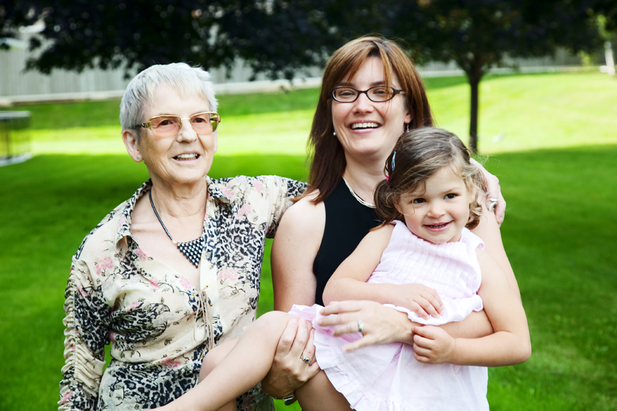 Genefer, her mom and Alessia