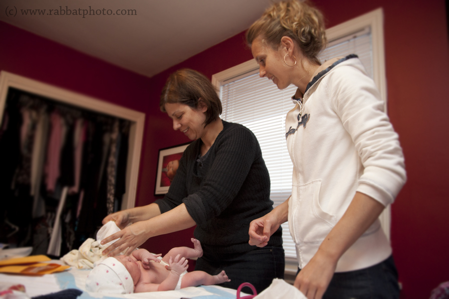 Midwives with Emily