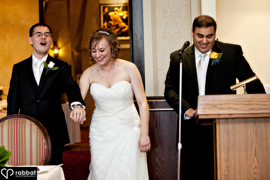 The last time the groom will have the upper hand