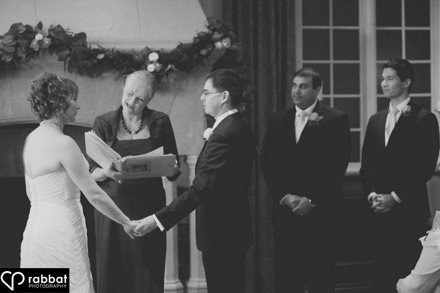 Wedding Ceremony at St. George's Golf and Country Club