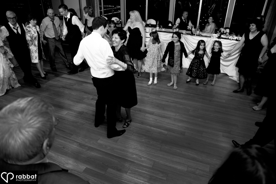 Groom and Nonna dance