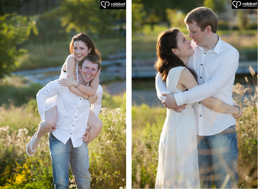 Katrina and Gavin's Engagement Photos in Etobicoke