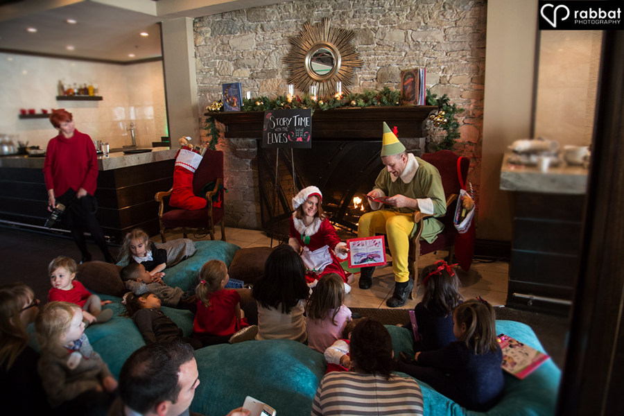 Storytime with the elves