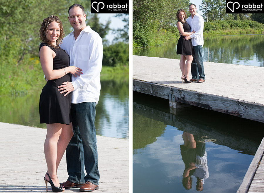 Rachel and Mike at Humber River 1
