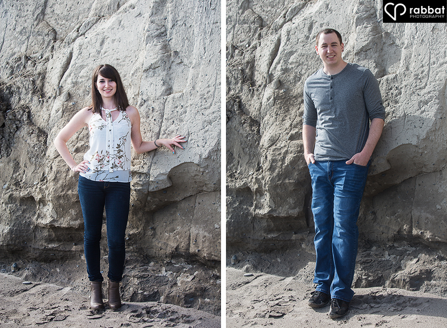 Engagement Photos at the Scarborough Bluffs