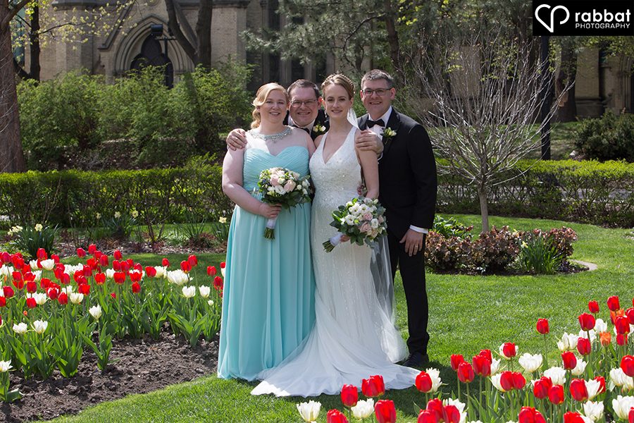 Bridal Party at St. James Cathedral