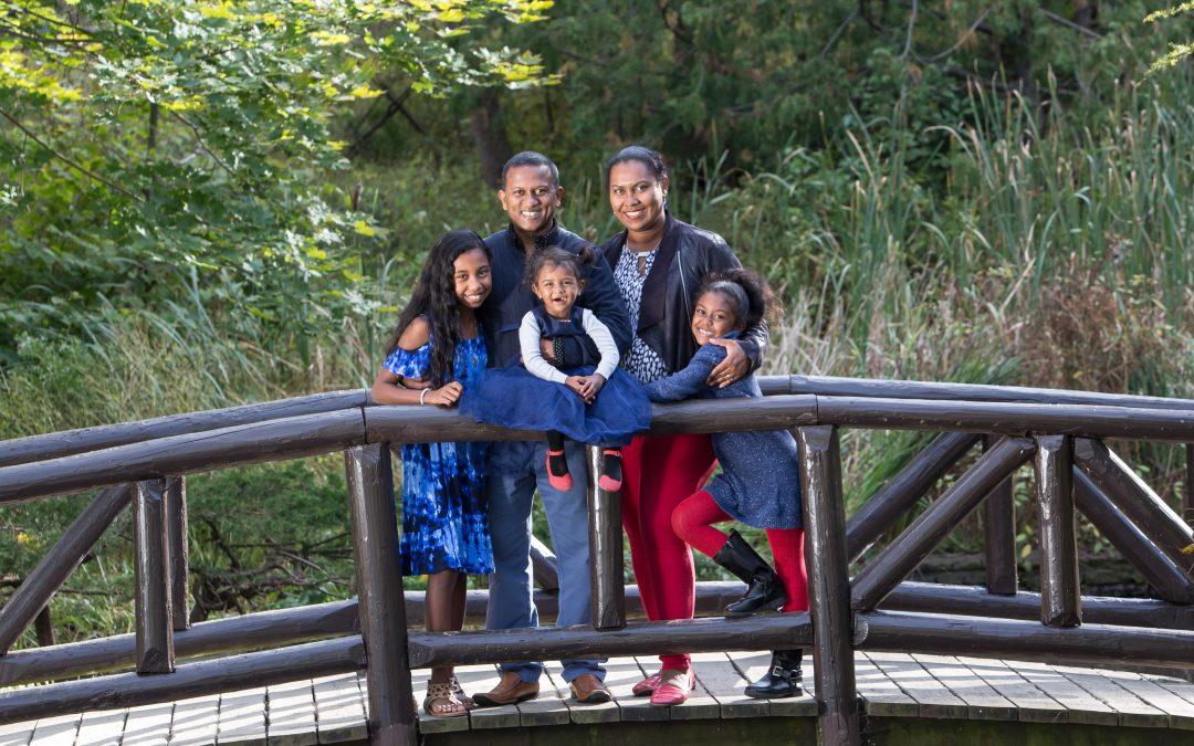 Etobicoke family portraits